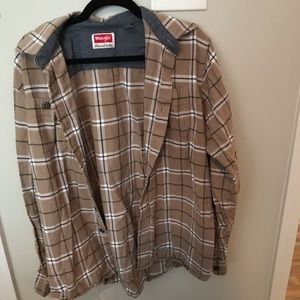 Wrangler Button Up Flannel